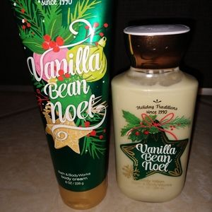 Bath & Body Works Noel, Full Size Lotion & Cream